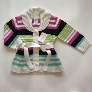 NWT Gymboree Girls 12-18 mos Sweater Cardigan NEW